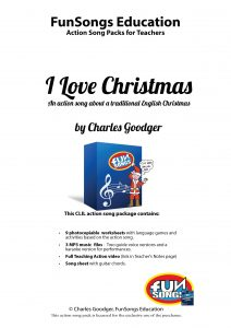 Front page of I Love Christmas package Dec 2018